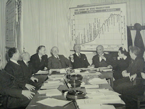 Photo: Governor Gardner with the Board of War Mobilization 1942 Washington