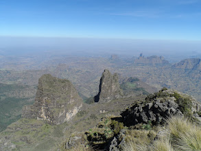 Photo: View from Imetgogo (12,877 feet), Simien Mountains National Park