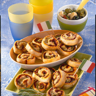 Mini Pizza Spirals