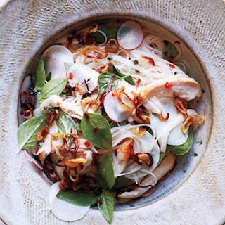 Rice Vermicelli with Chicken and Nuoc Cham