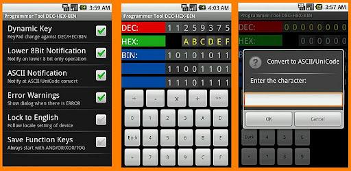 Programmer Tool DEC-HEX-BIN - Apps on Google Play