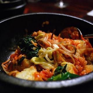 Vegetable Bibimbap.