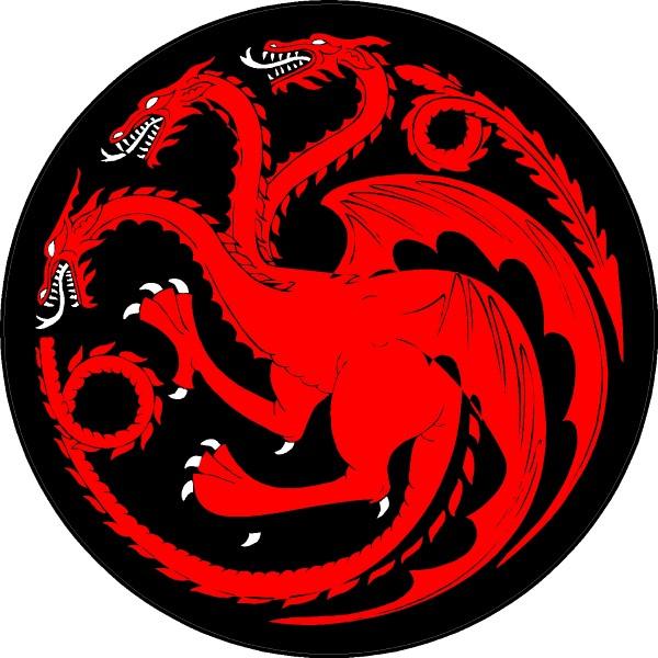 Logo for House Targaryen- Cardhu Gold Reserve