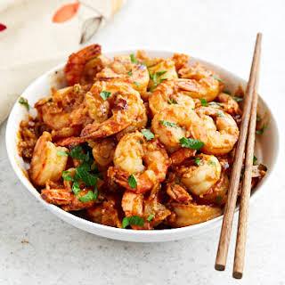 Hunan Shrimp (Hot and Spicy).