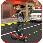 Hoverboard Paper Delivery 2017 Icon