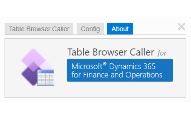 D365 Finance and Operations Data Browser