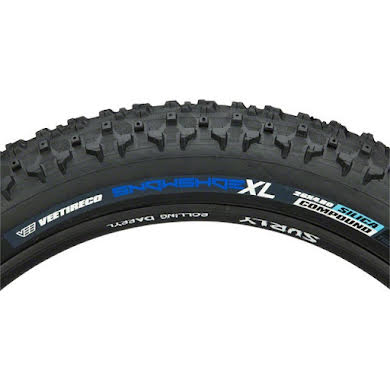 "Vee Tire Co. Snowshoe XL Studless Fat Bike Tire: 26"" x 4.8"" 120tpi Folding Bead Silica Compound Custom St"