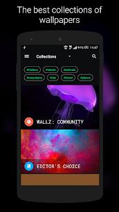 Wallz – HD Stock, Community & Live Wallpapers v1.4.4 [Pro] APK 1