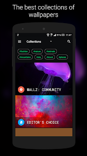 Wallz - HD Stock, Community & Live Wallpapers Screenshot