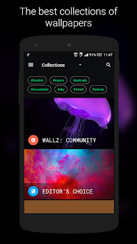 Wallz: Wallpaper APP- screenshot