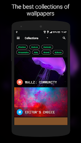 Wallz - HD Stock, Community & Live Wallpapers Apk Download Free for PC, smart TV