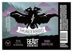 Beast Brewing Company's Thunderbird DIPA