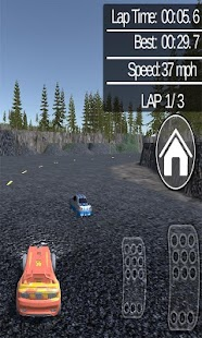 McQueen Car Racing 3D - náhled