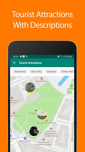 Download Amsterdam Offline Map and Travel Guide 1.35 1