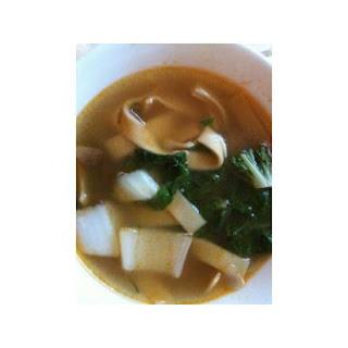 Zomppa's Egg Noodle Soup.