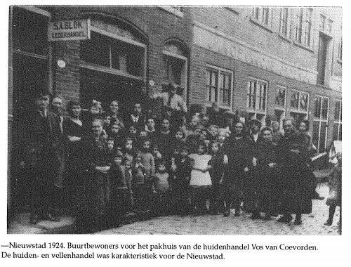 Groepsfoto Nieuwstad 1924