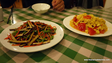 Photo: A very expensive dinner for two famished hikers