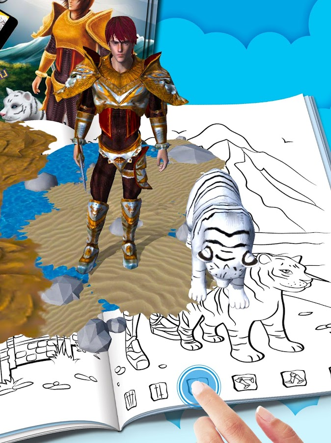 3D AR Knight- screenshot
