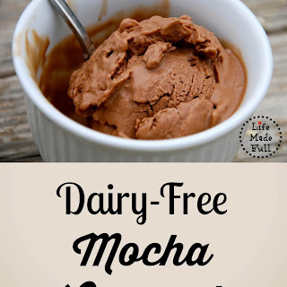 Mocha Coconut Ice Cream