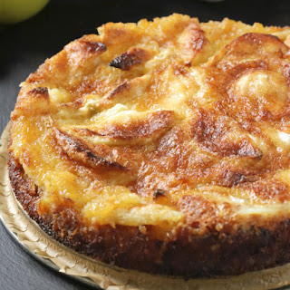 French Apple Cake (whole grain, dairy-free options)