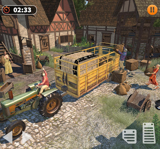 Tractor Farming Simulator - Big Farm Tractor Games apkmr screenshots 10