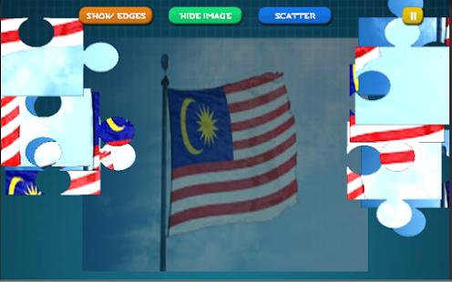 I love Malaysia Jigsaw Puzzle - náhled