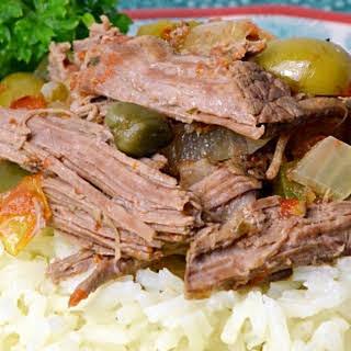 Slow Cooker Cuban Ropa Vieja.