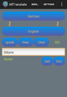 AllTranslate Translator- screenshot thumbnail