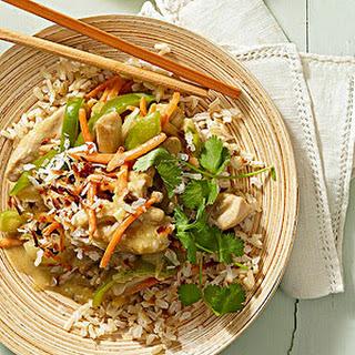 Thai Green Curry Chicken.