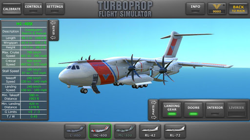 Turboprop Flight Simulator 3D  screenshots 2