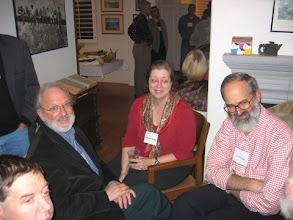 Photo: PROFESSOR GEORGE SPERLING, DEAN OF SOCIAL SCIENCES BARBARA DOSHER AND PROFESSOR TED WRIGHT