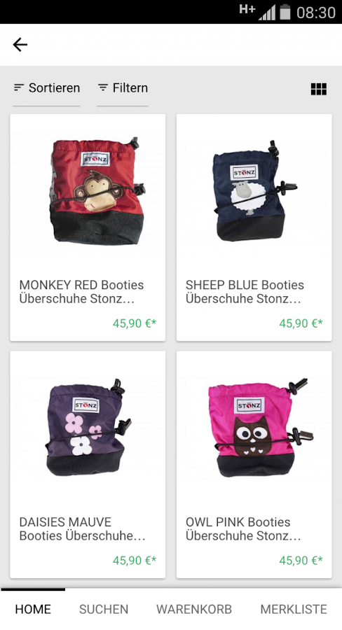 monamikids Kinderschuhe- screenshot