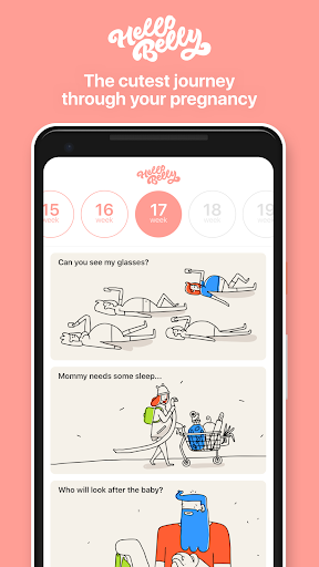 Hello Belly: Pregnancy Tips & Tracker - screenshot