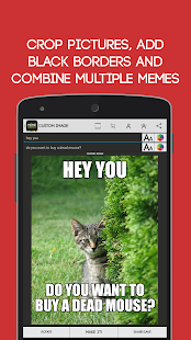 Meme Generator (old design)- screenshot thumbnail