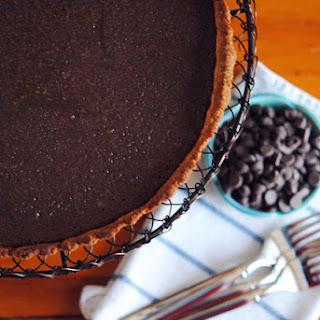 Chocolate Tart with Quinoa & Almond Crust ~ Dairy Free & Gluten Free Recipe