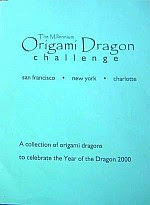 Photo: OUSA/ORIGAMI DRAGON CHALLENGE OUSA A compilation of diagrams from the millennium challenge to celebrate the Year of the Dragon 2000. All models are previously unpublished. 92 pp. Spiral-bound Paperback.