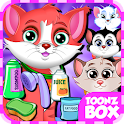 Cute Cat Pet Care Games icon