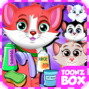 Cute Cat Pet Care Games mobile app icon
