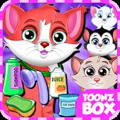Cute Cat Pet Care Games