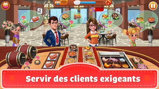 Télécharger Cooking Hit - Chef Fever, Cooking Game Restaurant APK MOD (Astuce) screenshots 1