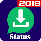 Status download Video Image save status downloader icon