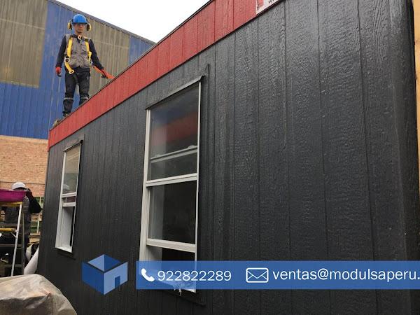 Modulos Prefabricados Casetas De Seguridad Ambientes