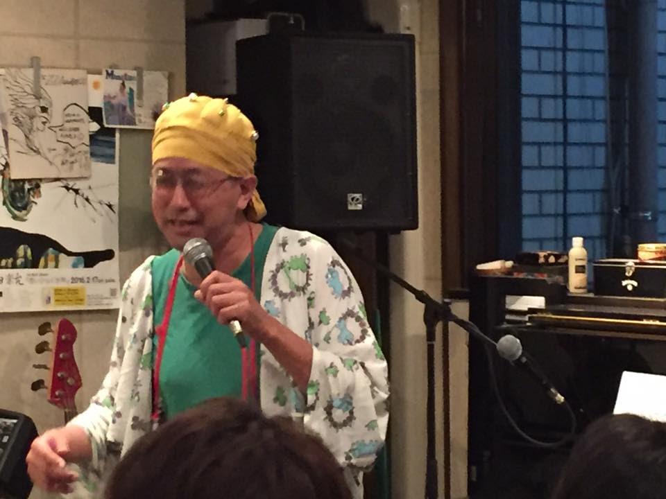 ひんでん さん、参上。2017/08/11 金、@西荻ジジアナベル。Manatsuさんホスト初回。