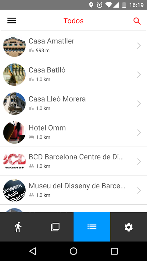 Barcelona Design Tour- screenshot