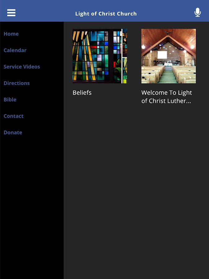 Light of Christ Church- screenshot