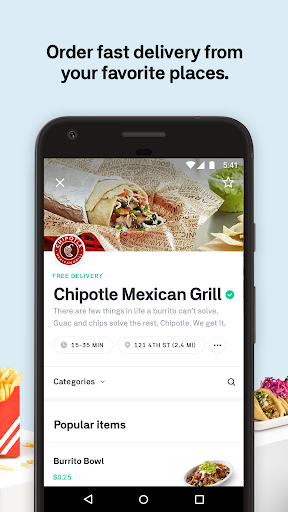 Download Postmates Food Delivery: Order Eats & Alcohol MOD APK 2