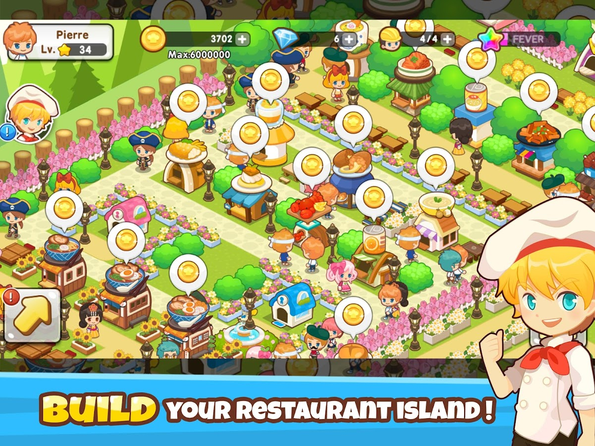 Restaurant paradise sim builder android apps on google play