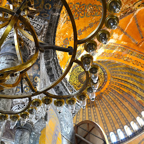 Hagia Sophia by Robyn Vincent - Buildings & Architecture Public & Historical ( beautiful architecture, hagia sophia, religous art, istanbul, turkey, historical places )