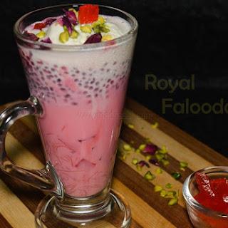 Royal Falooda / Falooda recipe / How to make falooda from scratch at home.
