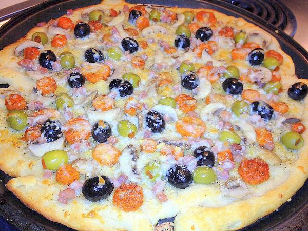 Olive Me Pizza Recipe